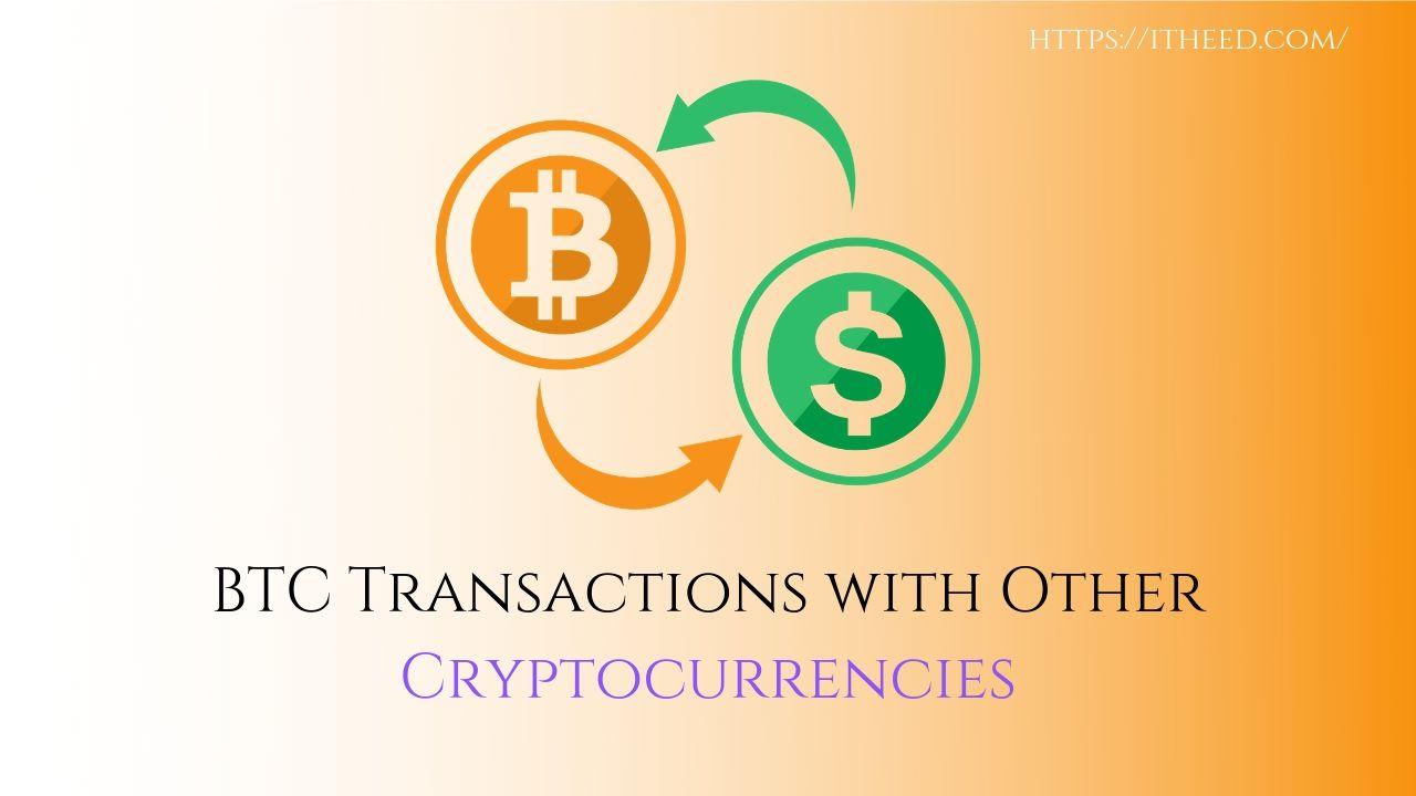 Error in BTC Transactions