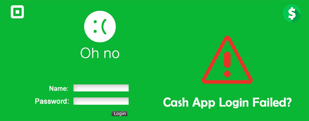 Cash App Sign in failed